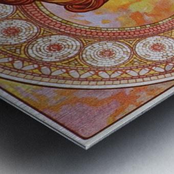 Topaz Metal print
