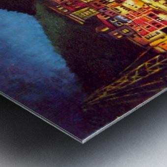 Cinique Terre Impression Metal print