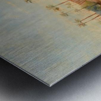 View of a pyramid Metal print