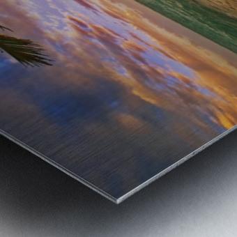 Lanikai Beach Sunset Metal print
