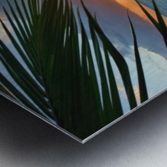 sunrise at Lanikai beach Metal print