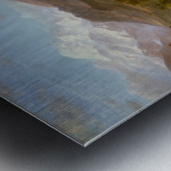 The Heart of the Andes Metal print
