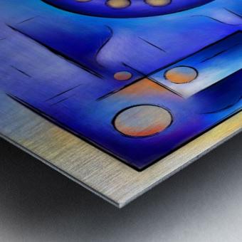 Grefenissa V1 - space art Metal print