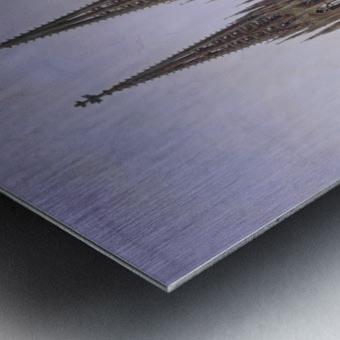 Idealansicht des Kolner Doms Metal print