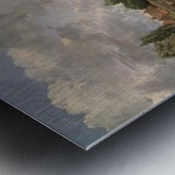 Scene on a Navigable River Metal print