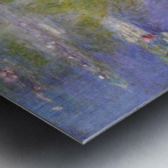 Nympheas at Giverny Metal print