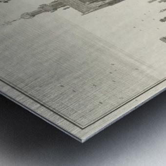 Katharynen Kerk Metal print