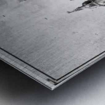 Het Huys Billioen Metal print