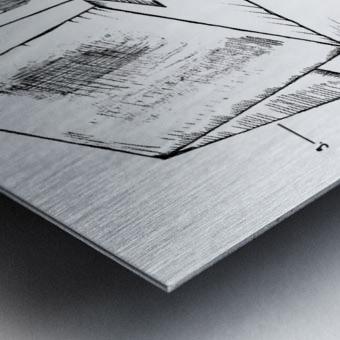 marletodiàno648 Metal print