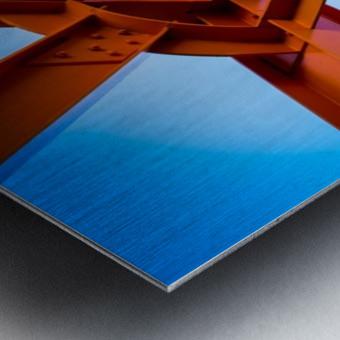 Abstract IV Metal print
