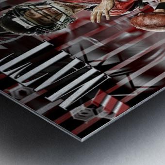 Matt Ryan Design Metal print