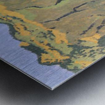 Cliffs by Felix Vallotton Metal print