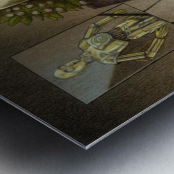 cremation Metal print