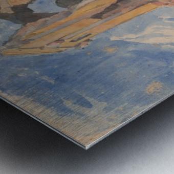 Tomb in Campagna Metal print
