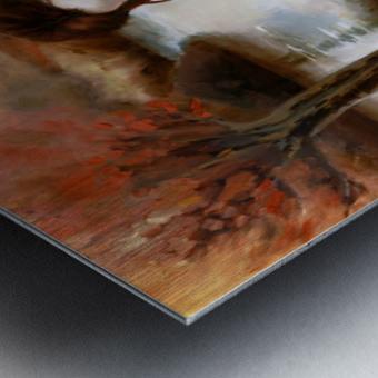 FoxFairy Metal print