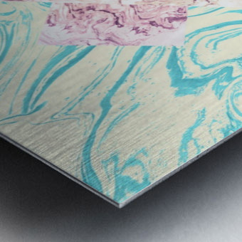 The X Marble File Impression metal