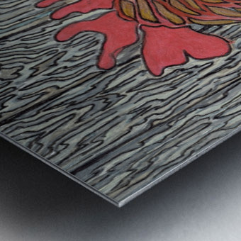Cornish Mother Metal print