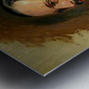 Jose Moreno Carbonero Selfportrait Metal print
