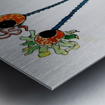 Snurch Metal print