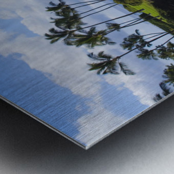 Hawaii, Maui, Wailea, Beautiful Ulua Beach. Metal print