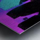 Shapes Metal print