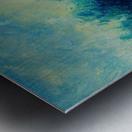 Landscape and Sun Metal print