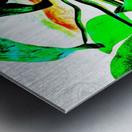 leplant Metal print