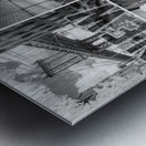 NEW YORK CITY Urban Collage No. 3 Metal print