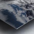 Glacial Metal print