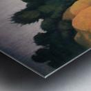 Shore scene with tree silhouette by Felix Vallotton Metal print