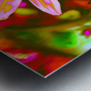 flowerPowerWILD Metal print