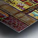 CHESKIES BAKERY RUE BERNARD MONTREAL STREET SCENE Metal print