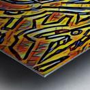 zigurat Metal print