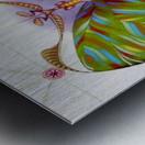 Fibonacci butterfly Metal print
