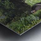 GLENCAR WATERFALL Metal print