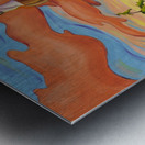 Haida Totem Metal print