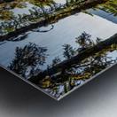 Devil's Lake Metal print