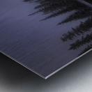 Winter Bow River Metal print