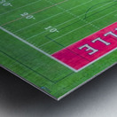 Maumelle, AR | Hornets Football Field Metal print