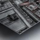 Streets of Paris - Montmartre Metal print