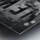 MANHATTAN SKYLINE Evening Atmosphere Metal print