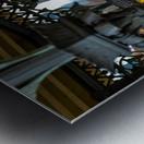 Inside Gazebo Central Park  Metal print