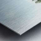 Blue water Metal print