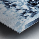 BURST - INVERTED Metal print