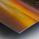 Rushville, IL Sunset Metal print