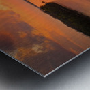 Grafton, IL River Sunset Metal print