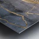 GRAPHIC ART Explore the world Metal print