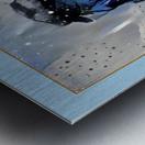 CA100 Metal print