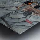 EDGEWOOD AVE. ATLANTA Metal print