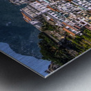 Artistic Amalfi Coast Landscape Metal print